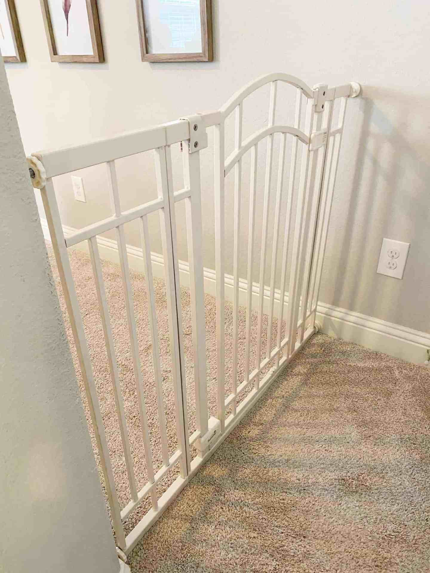 Baby Gate With Only One Wall : Gates, Difficult, Stairs, Pineapple, House, Rules