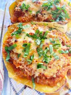 Spaghetti-Squash-Beef-Parmesan-close-up