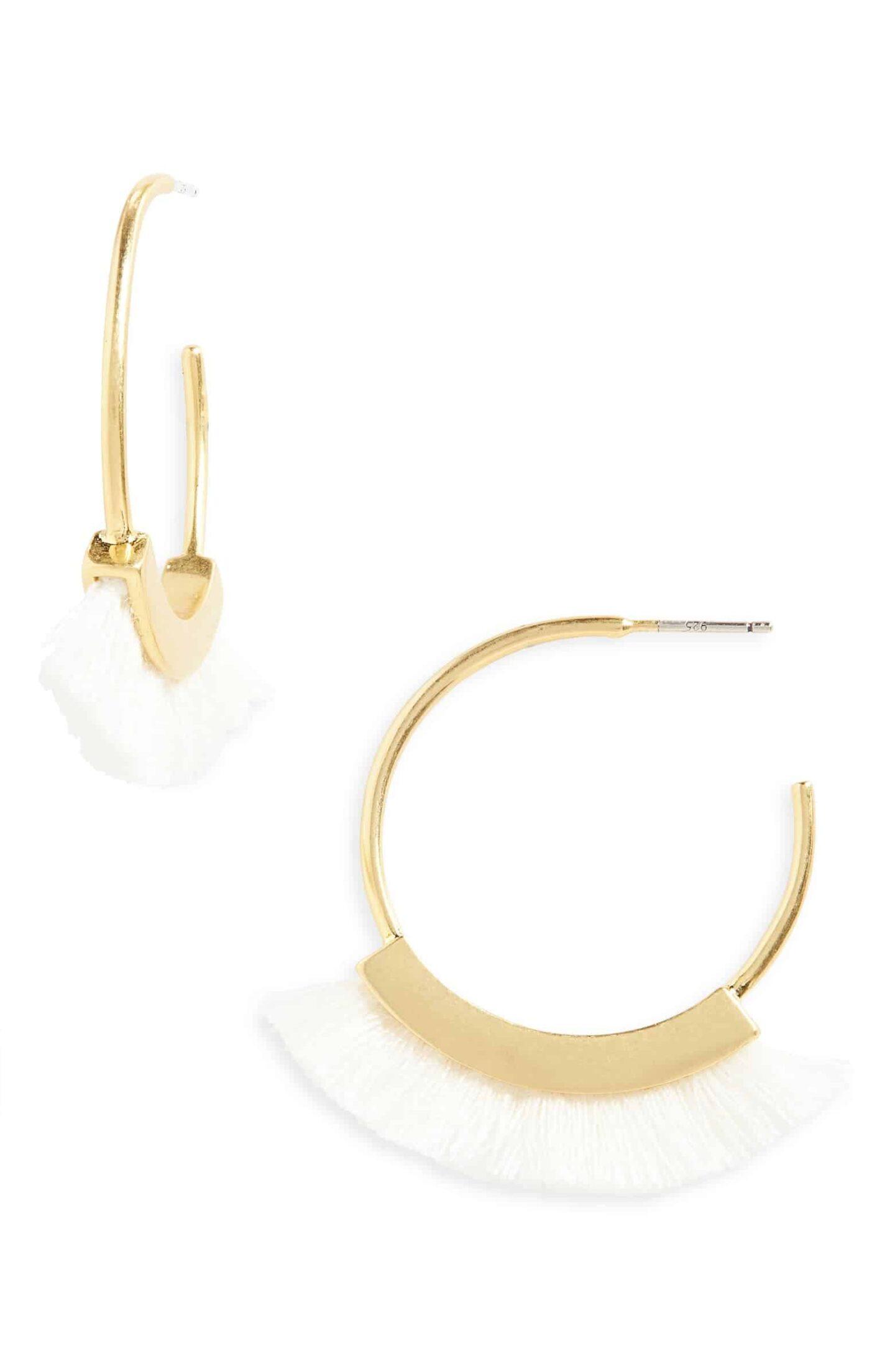 Fringe-Hoop-Earrings