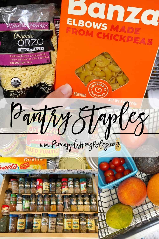 Pantry-Staples