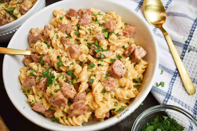 Chicken-Sausage-Pasta-Easy