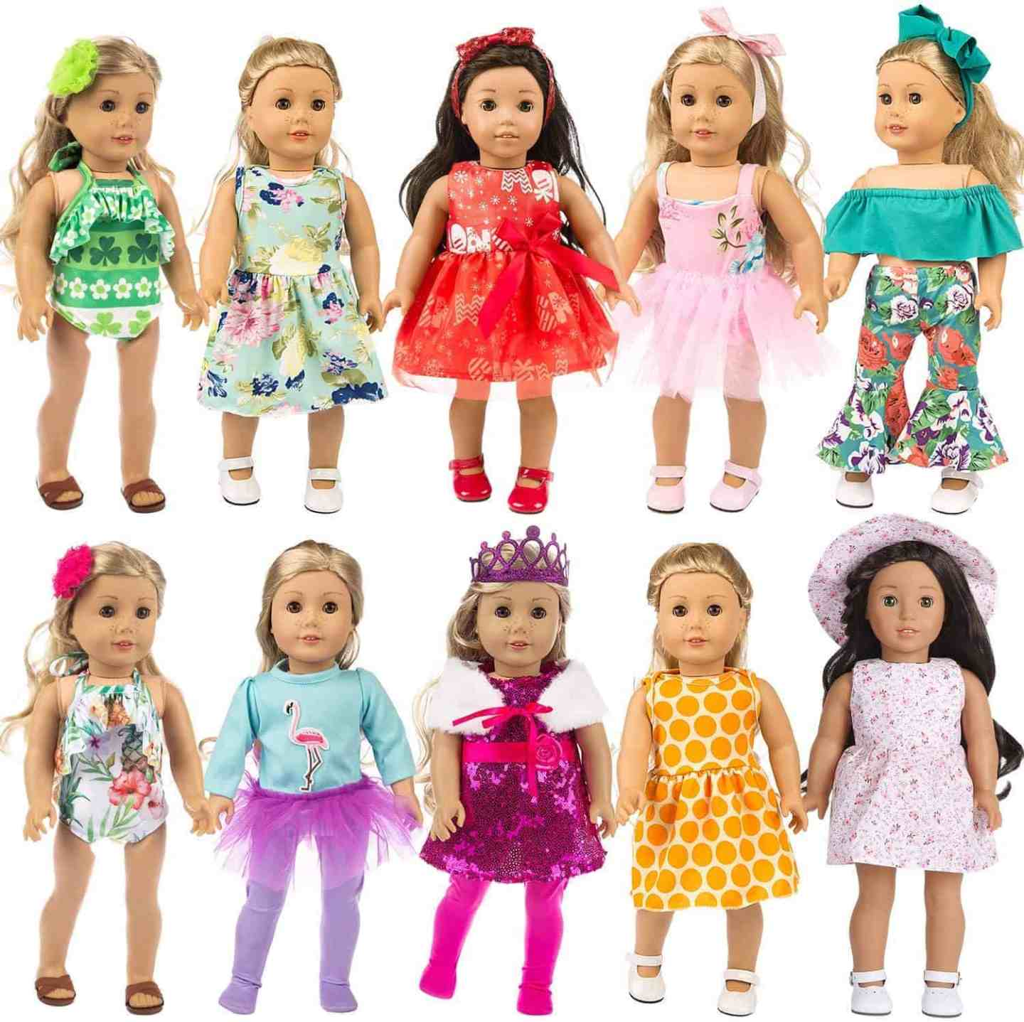 24-Piece-American-Girl-Doll-Clothes-and-Accessories