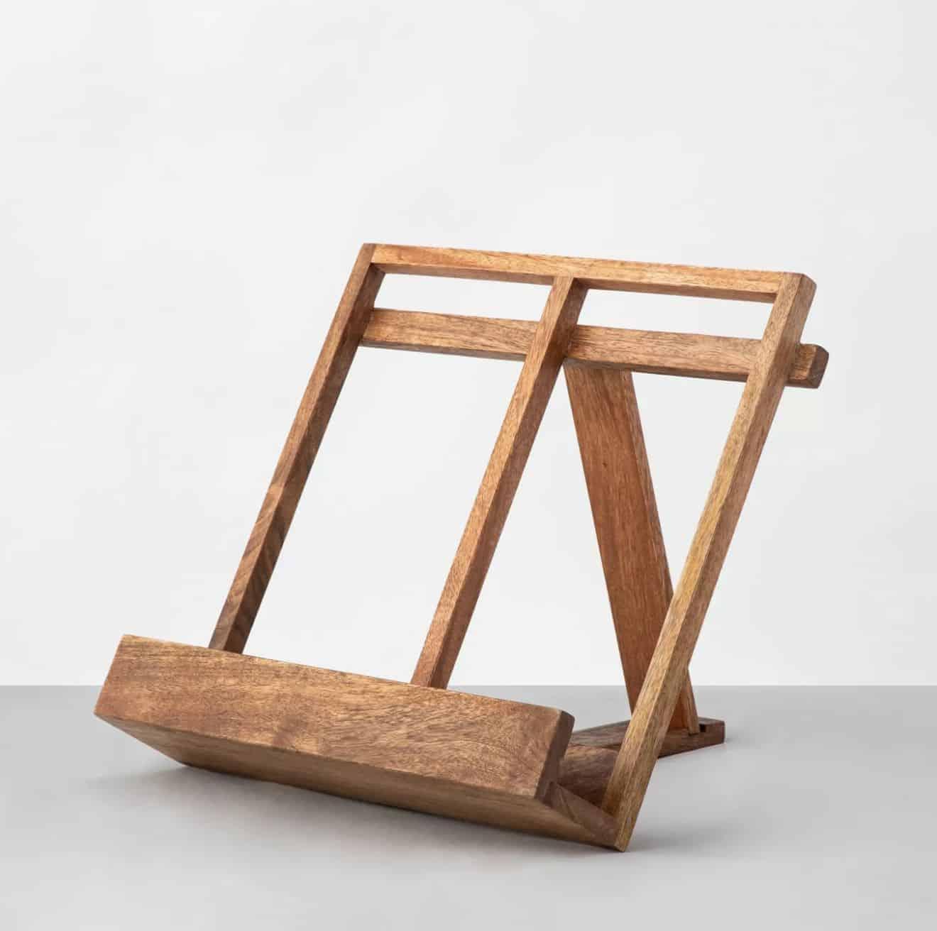 Wooden-Cookbook-Holder