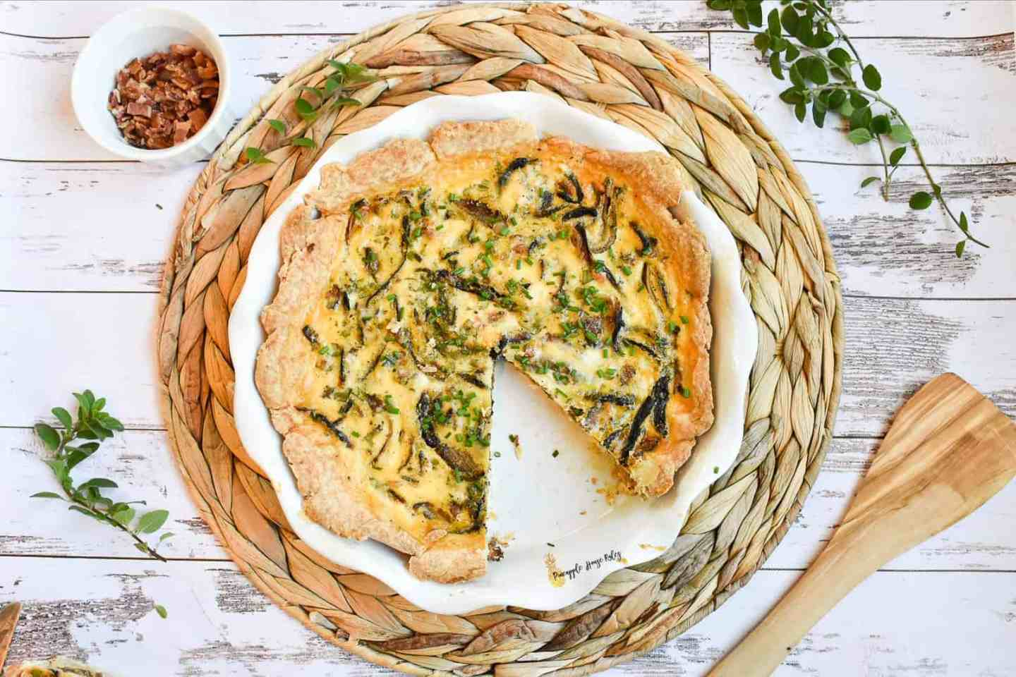 Caramelized-Onion-and-Bacon-Quiche-homemade-crust