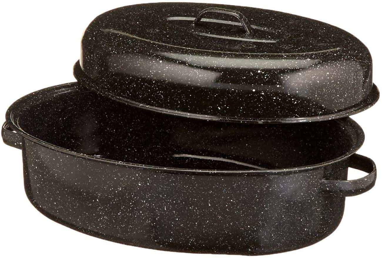 granite-ware-oval-roaster-with-insert
