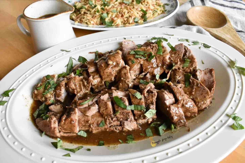 Savory Slow Cooker Pork Tenderloin Easy Recipe
