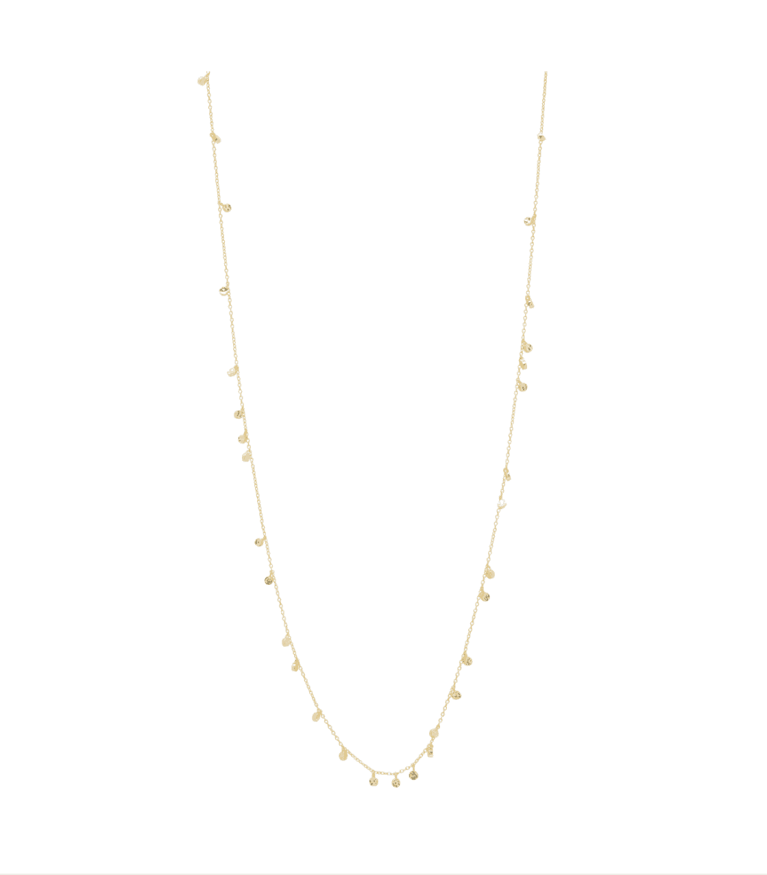 gorjana mini disc long necklace