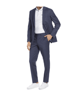 ted baker plaid wool suit