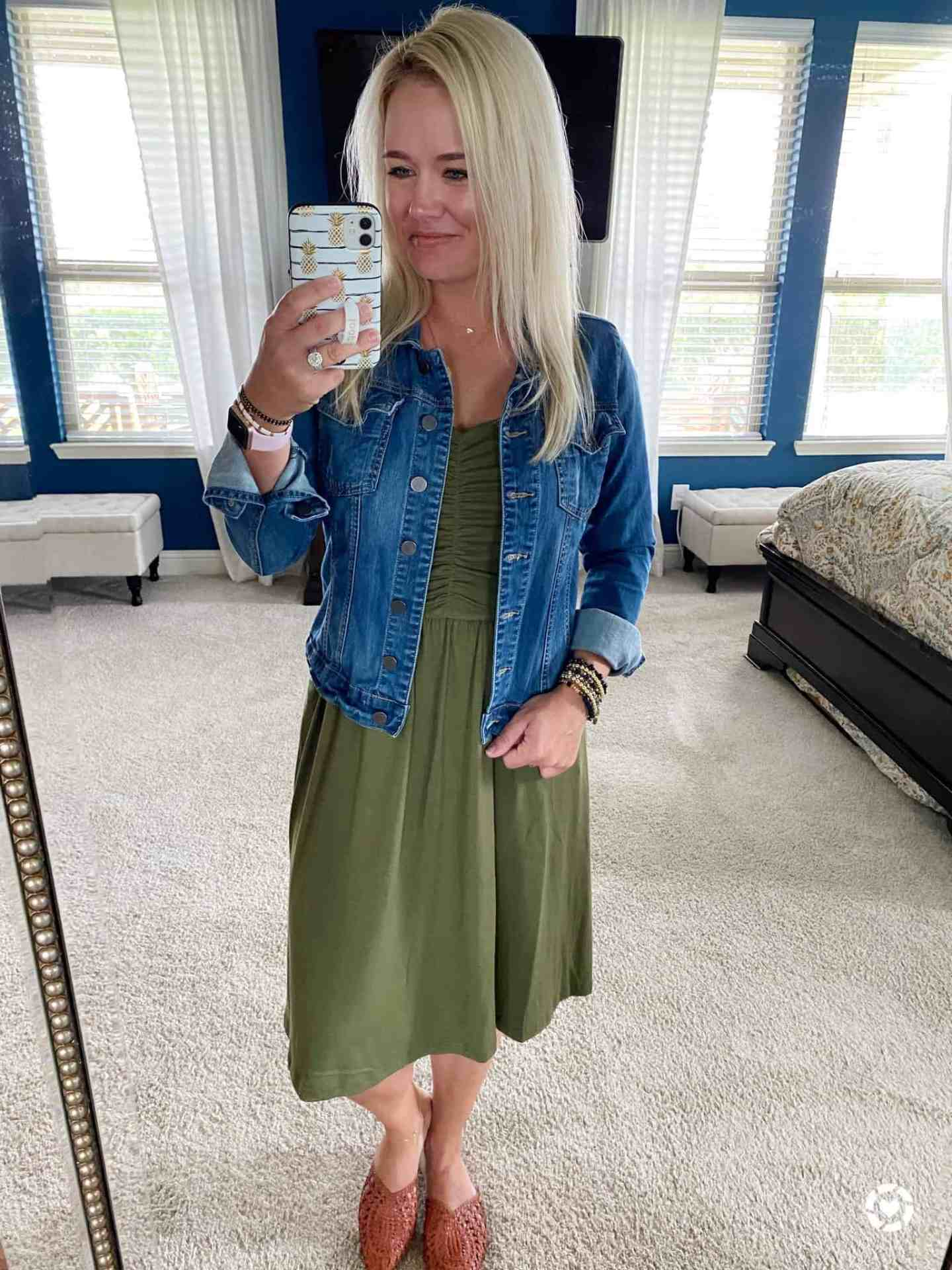 comfortable womens dress transition to fall