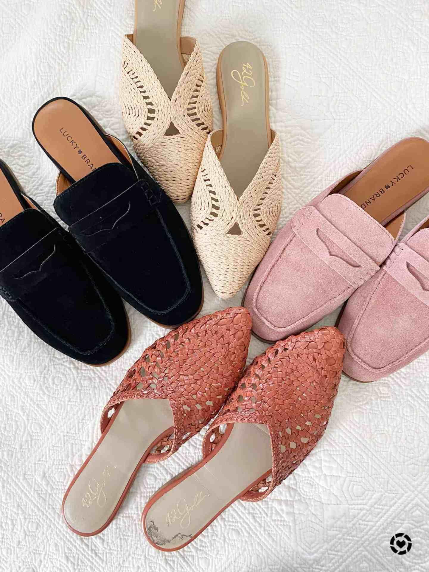 mule shoes for women 2021