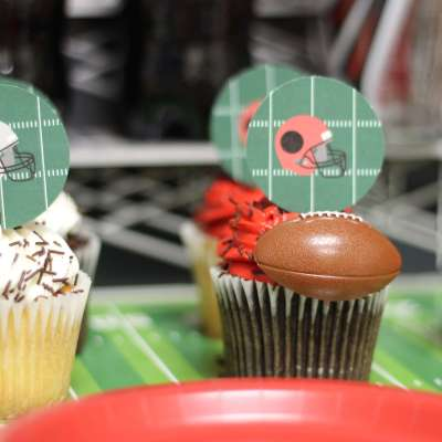 {Game Day} Football Party Free Printables on Everyday Party Magazine