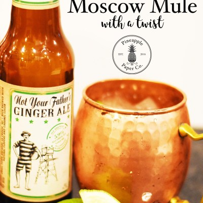 Easy Moscow Mule Recipe with a TWIST