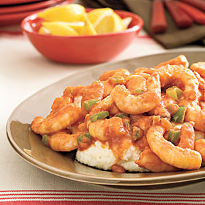 Creole Shrimp and Grits Traditional Mardi Gras Food Ideas and Recipes curated by Pineapple Paper Co.