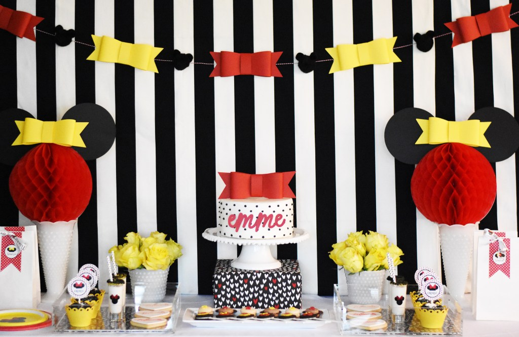 Minnie Mouse Party with Cricut by Pineapple Paper Co.