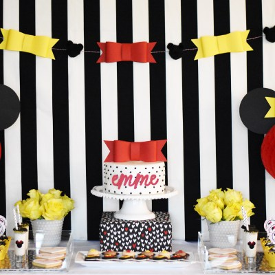 How to Make Minnie Mouse Birthday Party Supplies