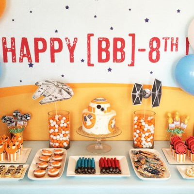 BB-8th Star Wars Birthday Party