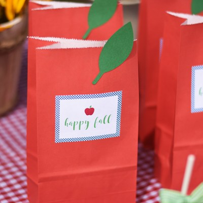 Fall Apple Party with the Cricut Maker