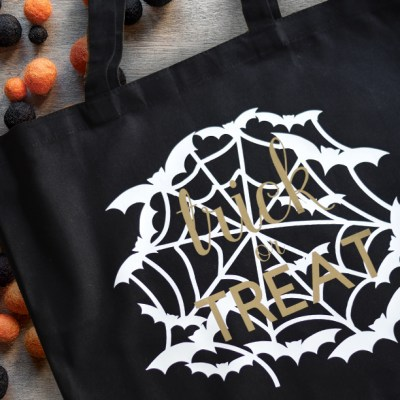 Craft Lightning – DIY Halloween Tote in 15 Minutes with Cricut