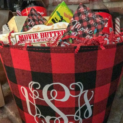 Movie Night Gift Basket FREE Printable with Everyday Party Magazine