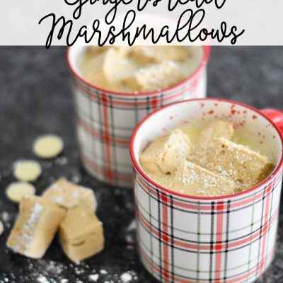 Gingerbread Marshmallows from Everyday Party Magazine