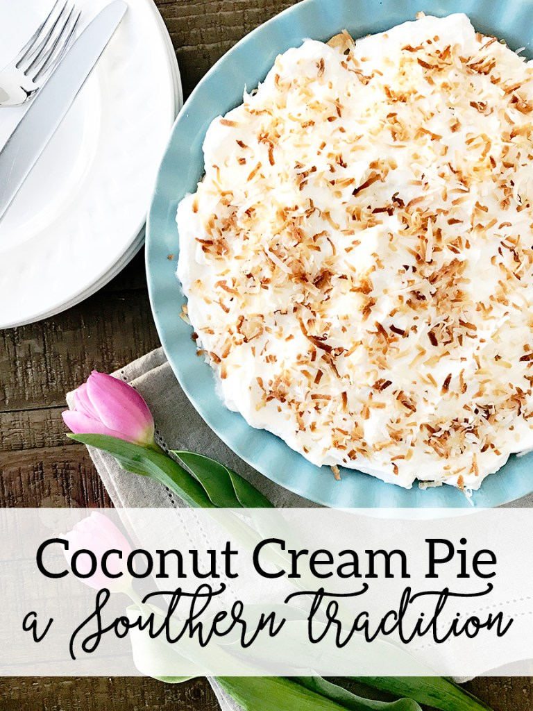 Southern Easter Brunch Ideas Coconut Cream Pie