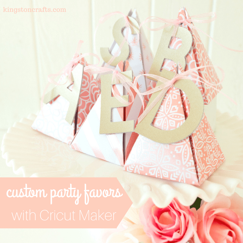 Custom Party Favors by Kingston Crafts