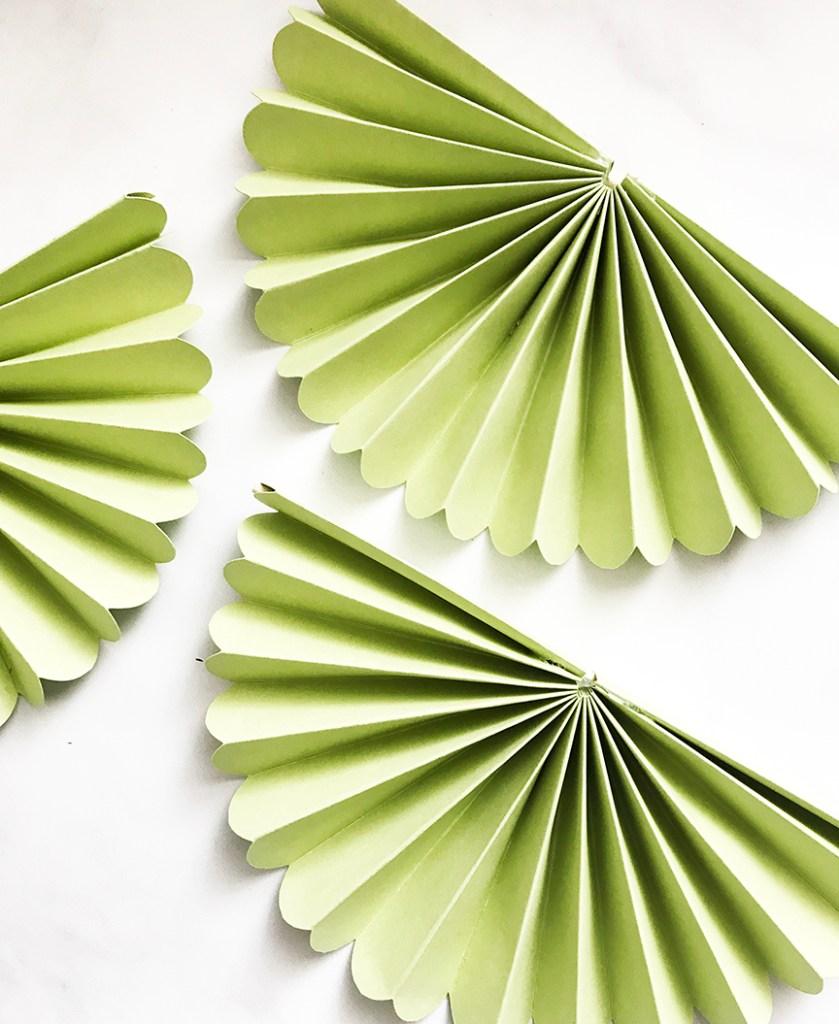 Green 1/2 Rosettes