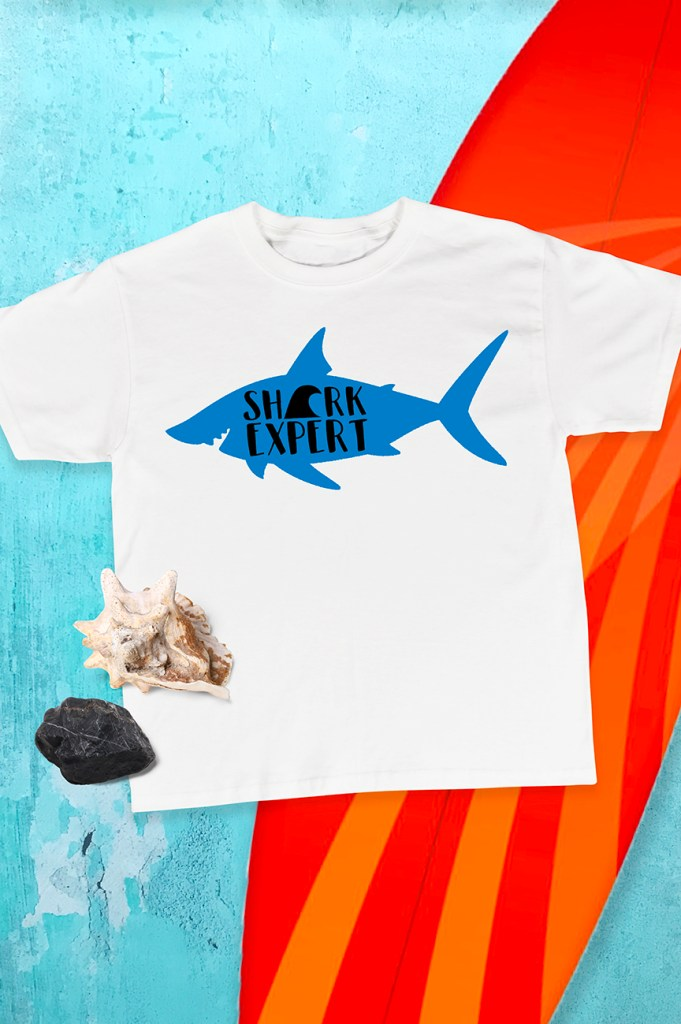 Shark Expert Shirt by Pineapple Paper Co. for Cricut