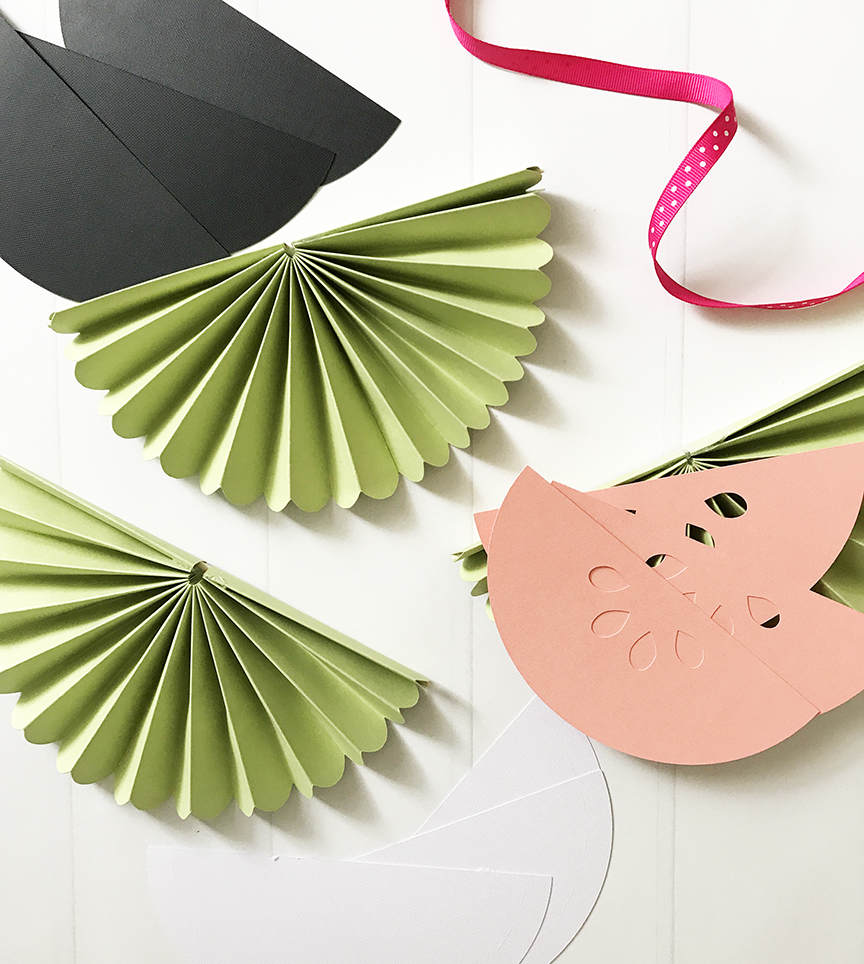 Creating a DIY Watermelon Banner