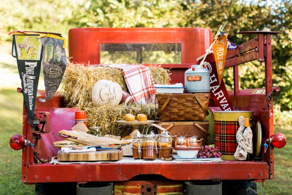 Draper James Tailgate Party and Tailgating Ideas curated by Pineapple Paper Co.