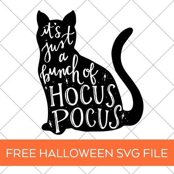 FREE Halloween SVG File - Hocus Pocus Tote - Pineapple ...