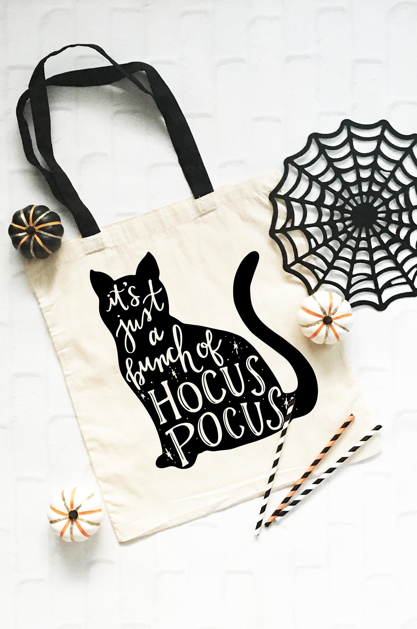 Hocus Pocus Cat SVG