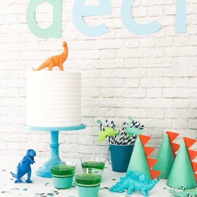 Dinosaur Party Ideas – DIY Dinosaur Party Decorations with Martha Stewart, Cricut, and Michaels