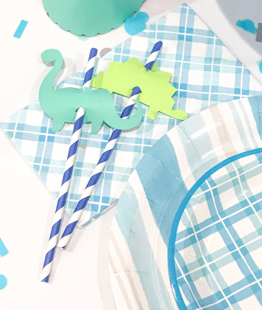 Martha Stewart Dinosaur Party Ideas by Pineapple Paper Co. for Cricut, Michaels, and Martha Stewart