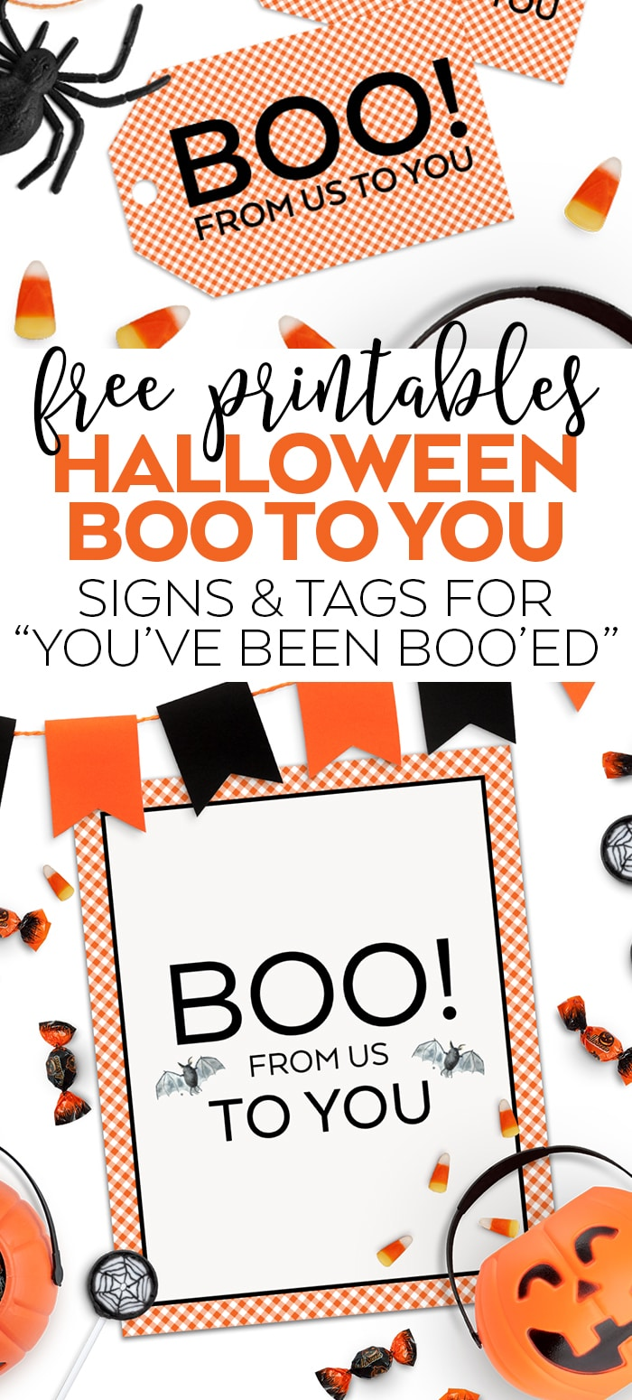 photo about You've Been Booed Printable identify Absolutely free Halloween Printables - Youve Been Booed - Pineapple