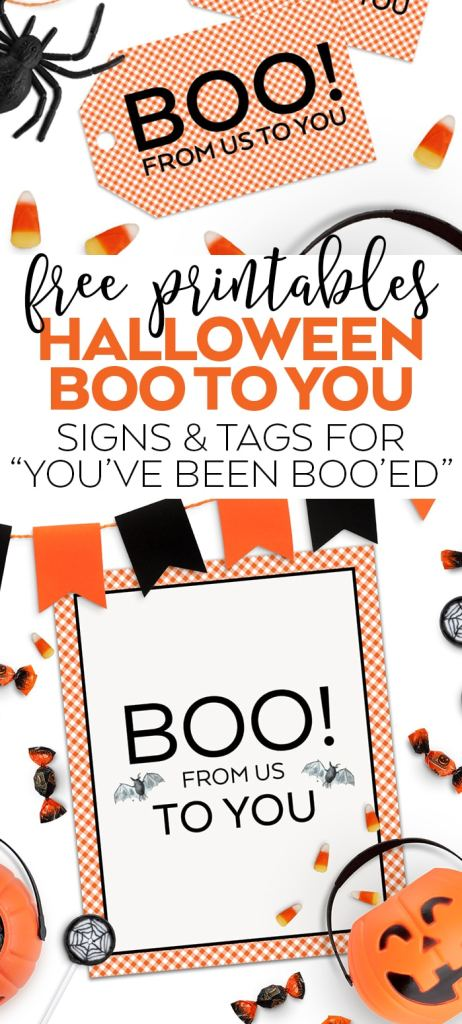 Free You've Been Boo'd Halloween Printables by Pineapple Paper Co.