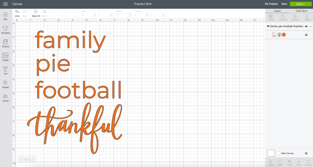 Make DIY Thanksgiving Crafts with FREE SVG Files