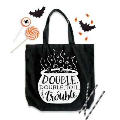 Double Double Toil and Trouble Cut File