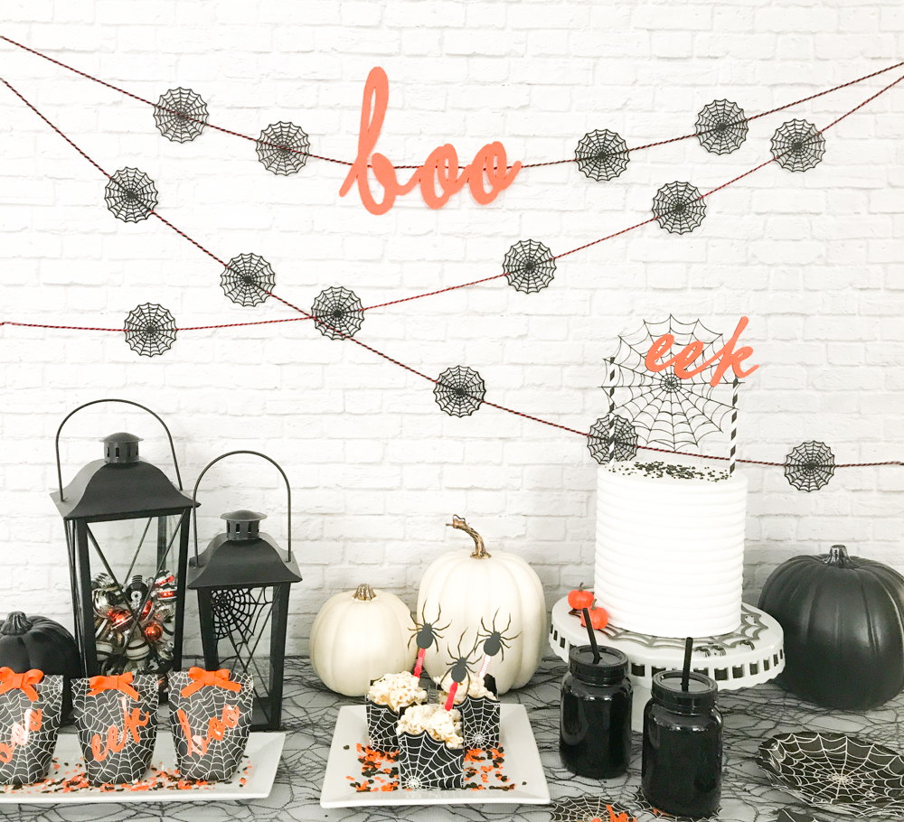 Halloween Party Ideas - Martha Stewart Cricut - Pineapple Paper Co