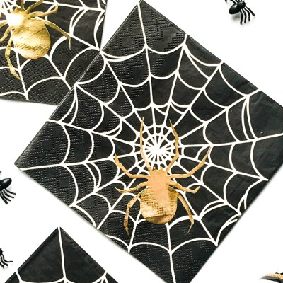 DIY Halloween Personalized Napkins with your Cricut