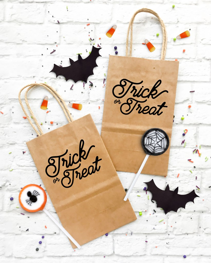 Download a FREE Trick or Treat Halloween SVG File by Pineapple Paper Co.