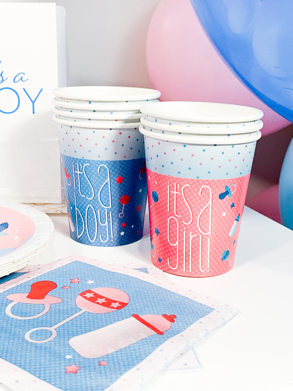 Gender Reveal Party Ideas by Pineapple Paper Co.