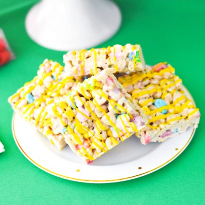Lucky Charms Rice Krispie Treats Recipe