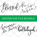 Religious Easter SVG Bundle