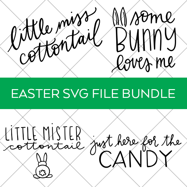 Easter Digital Cut File Bundle for Kids