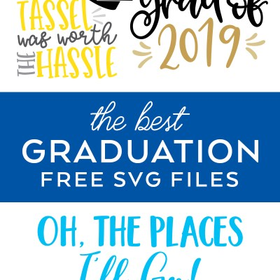 The Best Free Graduation SVG Cut Files
