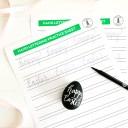 Printable Easter Hand Lettering Worksheet