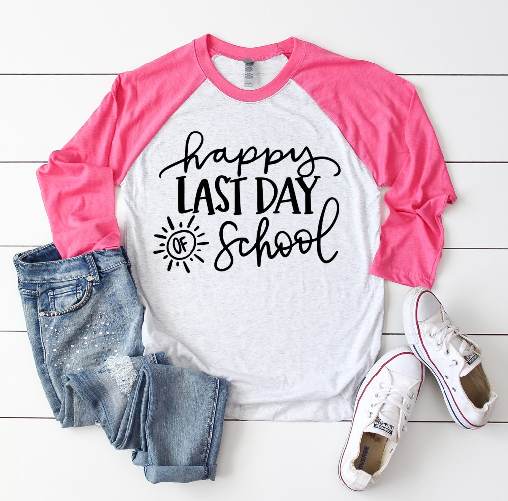Free Happy Last Day of School SVG Cut File by Pineapple Paper Co.