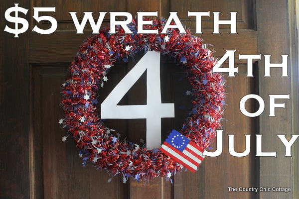 Wreath for the 4th of July