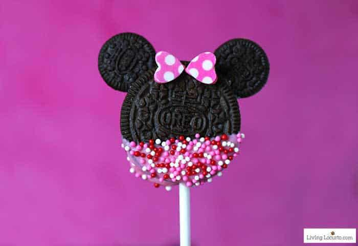 Minnie Mouse Cookie Pops